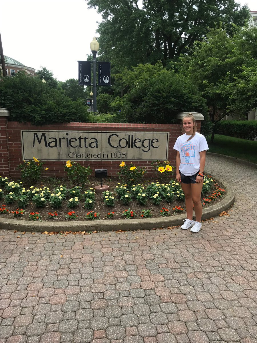 CONGRATULATIONS to Taylor Leedy from Massillon Tuslaw HS for her verbal commitment to Marietta College where she will continue her basketball and academic careers!  @taylorleedy  @Marietta_WBB  @MariettaCollege https://t.co/L8HUPYWinM