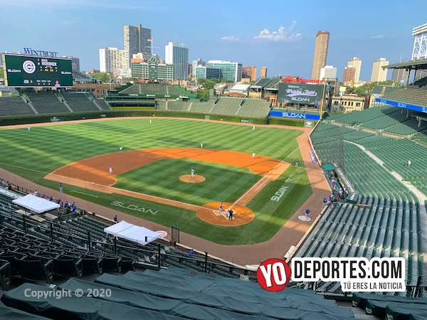 "🔊""Ruidoso"" duelo entre Kyle Hendricks y Yu Darvish con el Wrigley Field vacío #springtraining #MLB #chicagocubs  https://t.co/EyN2ThOYky https://t.co/u4w5IfLk85"