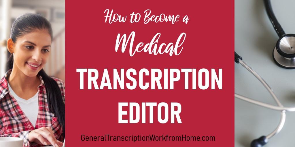How to Become a Medical Transcription Editor  #MT #medicaltranscription #editor  #WAHM#Moms https://t.co/IZrEpVaQQ2 https://t.co/YrHHVotN3r