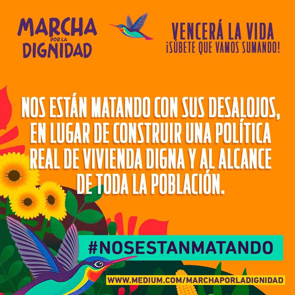 #NosEstánMatando Los pueblos indígenas y afrodescendiente protegen sus territorios de la voracidad de grandes empresas multinacionales y de los proyectos que desbastan los ecosistemas. pic.twitter.com/ughDlIBG3j