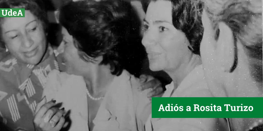 A Rosita la recodaremos por su amor a la profesión, la cual desempeñó con gran compromiso, por su lucha por la igualdad y por las enseñanzas que dejó a todos quienes tuvieron el honor de conocerla: https://bit.ly/3fhnvzVpic.twitter.com/ZF3YKk3GSx
