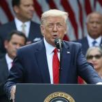 Image for the Tweet beginning: Trump to visit Georgia next