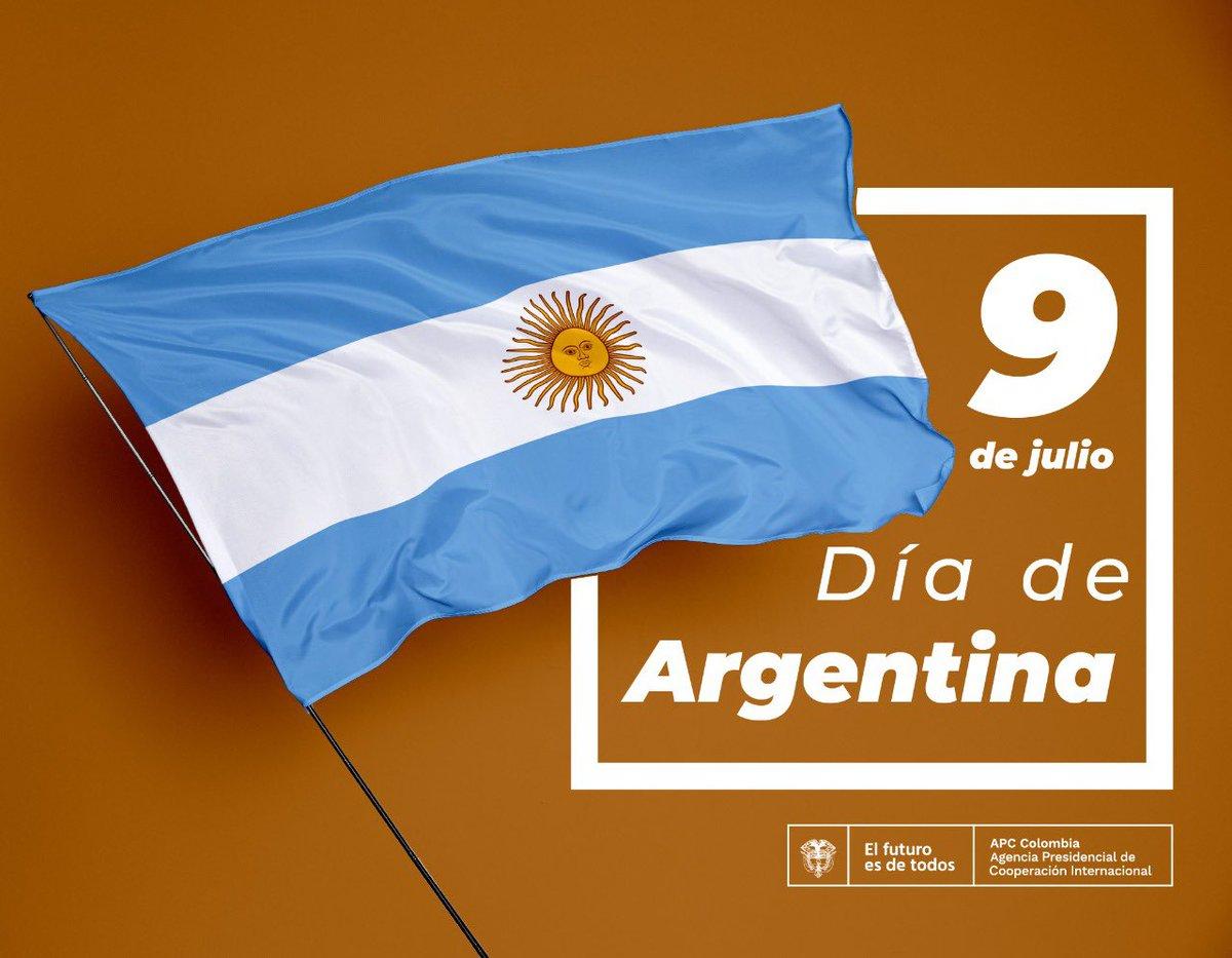 Nos unimos a la celebración del Día de la Independencia de uno de nuestros buenos y grandes socios del Sur Global: #Argentina con quien trabajamos 11 proyectos de Cooperación Sur-Sur y Triangular. Juntos avanzamos en el cumplimiento de los ODS y el desarrollo de nuestros países. https://t.co/NZrZfbOzda