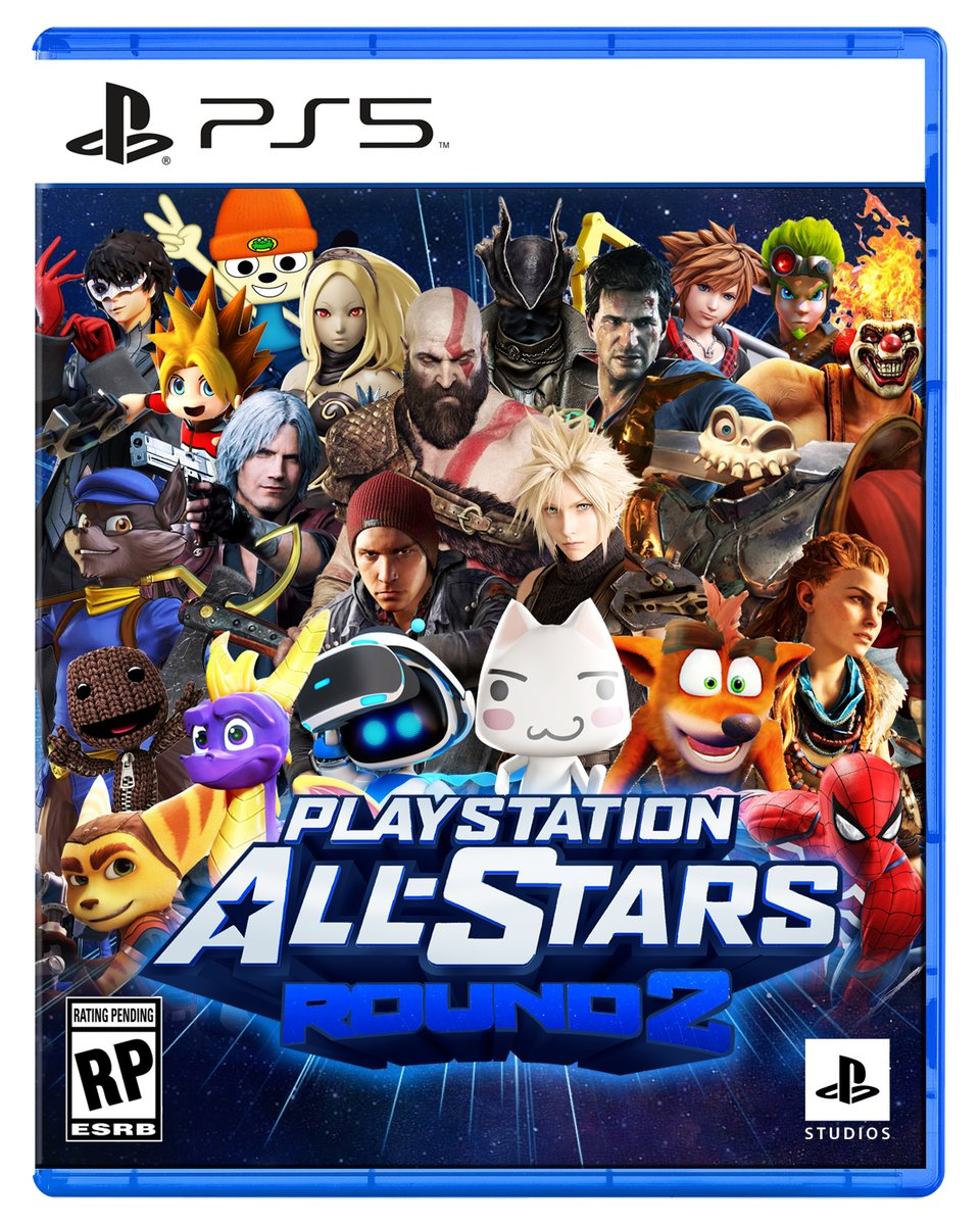 It´s time for Round 2, here is my Playstation All-Stars 2 Playstation 5 box art cover #PlayStation #AllStarsRound2 #PlayStationAllStars2 #PlaystationAllStars #25YearsOfPlay #PS5 #PlayStation5