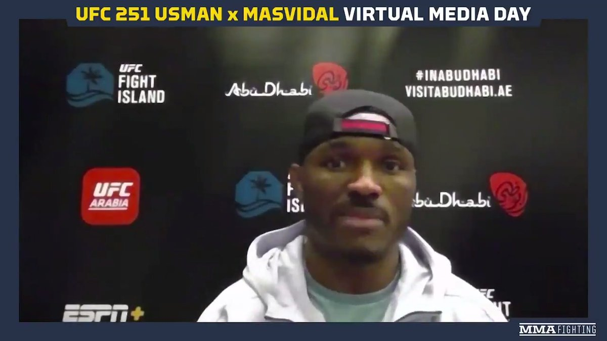 .@USMAN84kg knows the trash talk he hears from opponents is only to hype themselves up. When they step in there, their dreams of being champions turn into nightmares very quickly. Watch full video: youtu.be/rTiq3asT9E0