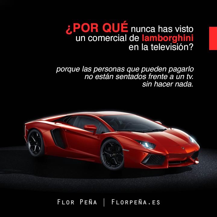 Sabes por qué? #Frases #Publicidad #Lamborghini https://t.co/7nnF92v8qD