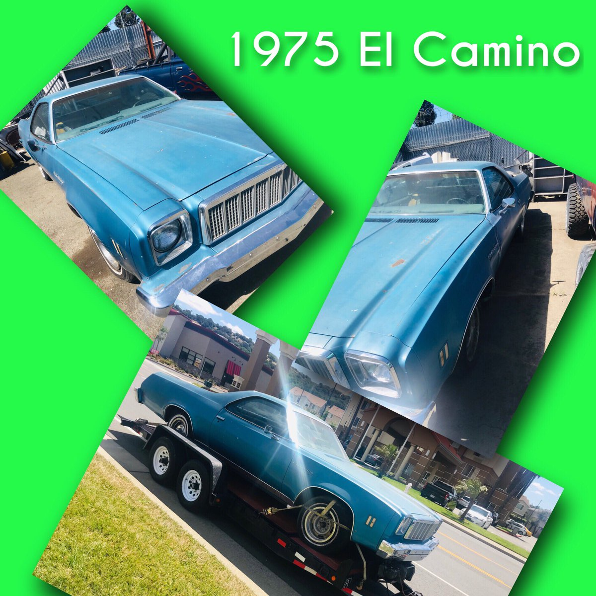 1976 Chevy El Camino Do I build it or do I sell it? #diy #mechanic #carflip #chevy #elcamino #elco #rancharo #forsale #musclecar #classiccarsforsale #classiccar #presmog #smogexempt