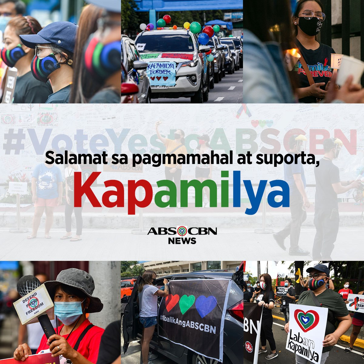 Thank you for fighting with us, Kapamilya. https://t.co/YOgSbmYd9M