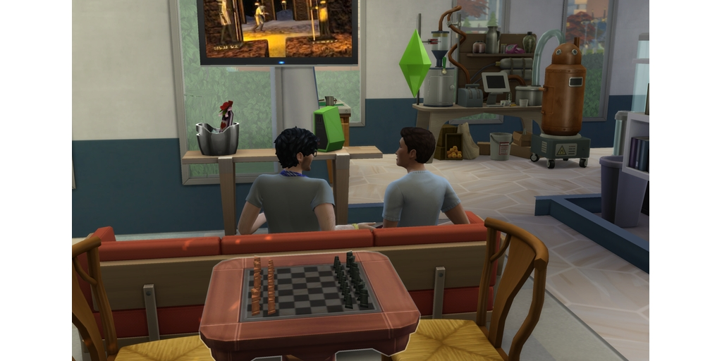 watching the season premiere of odder things #TheSims4 pic.twitter.com/rIYgyw6QSs