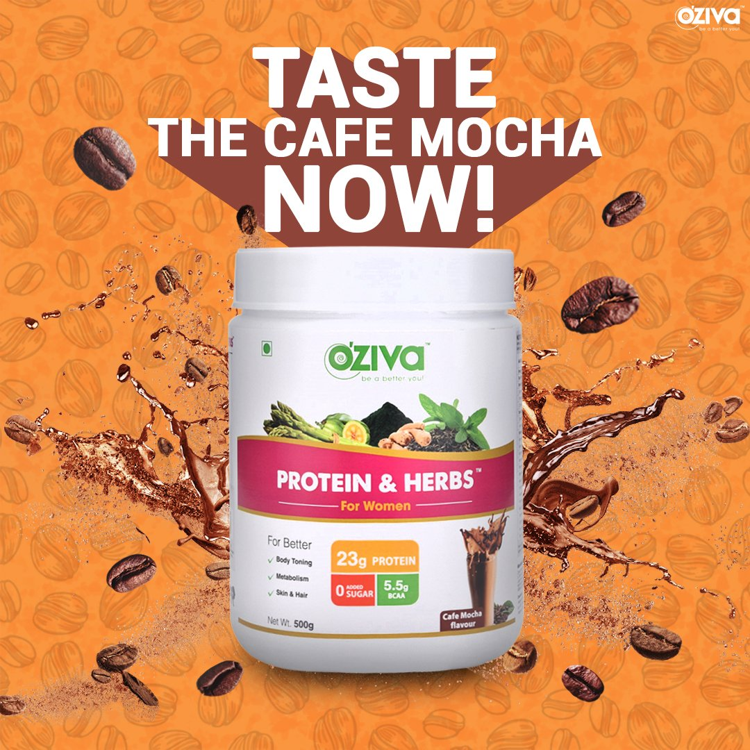 OZiva Protein & Herbs, Cafe Mocha provides CLEAN PROTEIN to keep your body fit. Plus, it improves metabolism, helps in maintaining Hormonal Balance, Supports Healthy Skin & Hair that makes it ALL-IN-ONE healthy supplement - http://oziva.info/cdcaf6aa   #protein #natural #ozivapic.twitter.com/s6k69xukqi