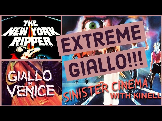 NEW VIDEO!! Looking at extreme examples of giallo cinema, namely LUCIO FULCIS NEW YORK RIPPER & MARIO LANDIS GIALLO A VENEZIA youtu.be/1AsTF65ctvI Check it out & RT!