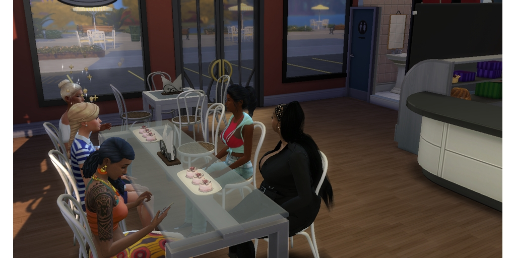 Today i'm Out at the bakery with some of my friends cake tasting for my wedding  #TheSims4 pic.twitter.com/DGc4MTKP62
