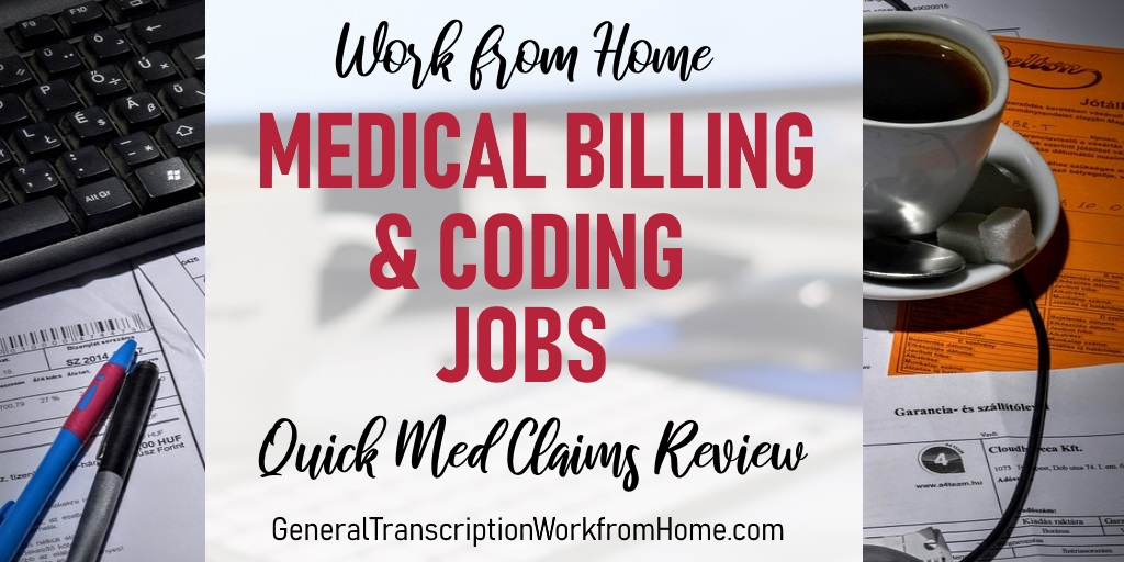 Work at Home Medical Billing and Coding Jobs with Quick Med Claims Review. #medical #coding  #workfromhome #jobs #billing #WAHM #Moms https://t.co/KQdxwHVVUx https://t.co/2vkABlgGpy