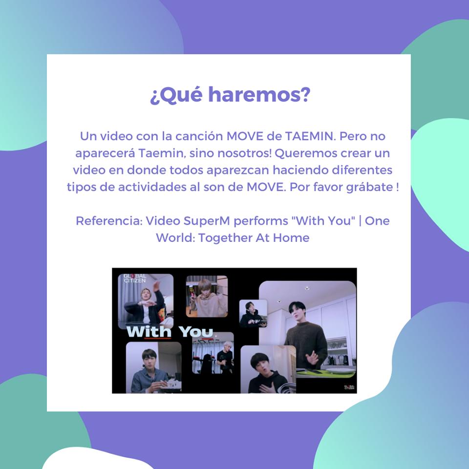 🎉 Let's MOVE ! - Movámonos juntos por el cumpleaños de #TAEMIN - Hasta el 14 de julio al mediodía  Creemos sonrisas para Taemin con este proyecto💕 🥺  Link del video referencia: https://t.co/nMy944bBah  👉🏼 Entérate de todos nuestros proyectos aquí: https://t.co/aZEgQ3fhPX https://t.co/z0RfpB6p7C