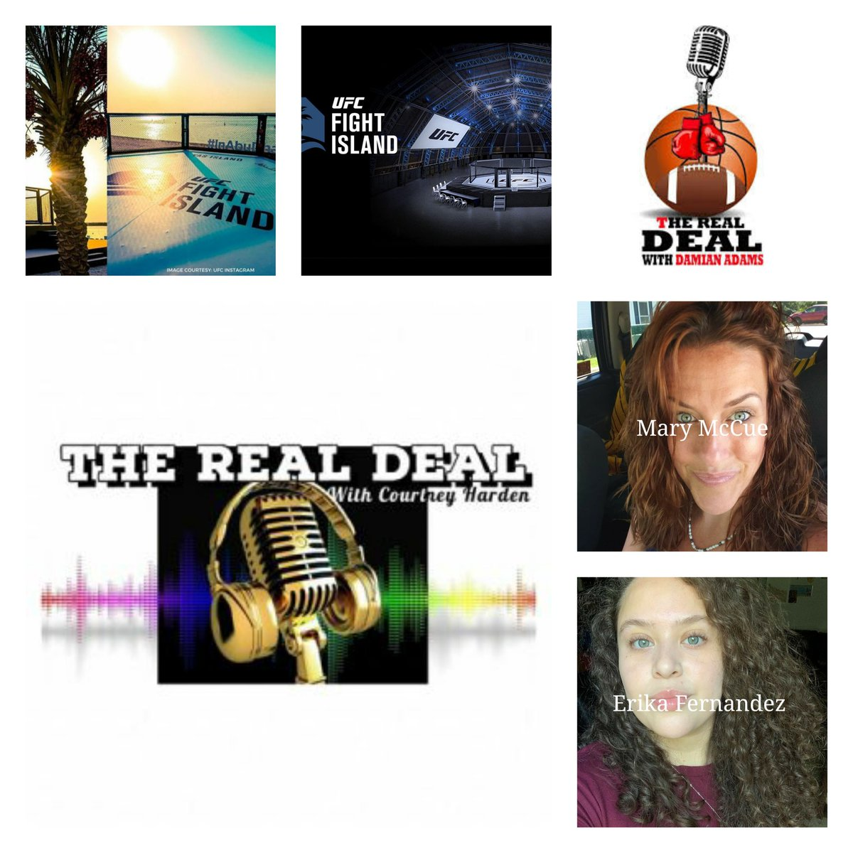 @gettherealdeal Ep 36 airs this Saturday 12PM EST with special guests 12:00 Mary McCue 1:00 @CurlsAndSports 1:30 @TheRealDealwDA #UFCFightIsland #UFC251 #BS3RADIO @BS3Radio Tune in here spreaker.com/show/the-real-…