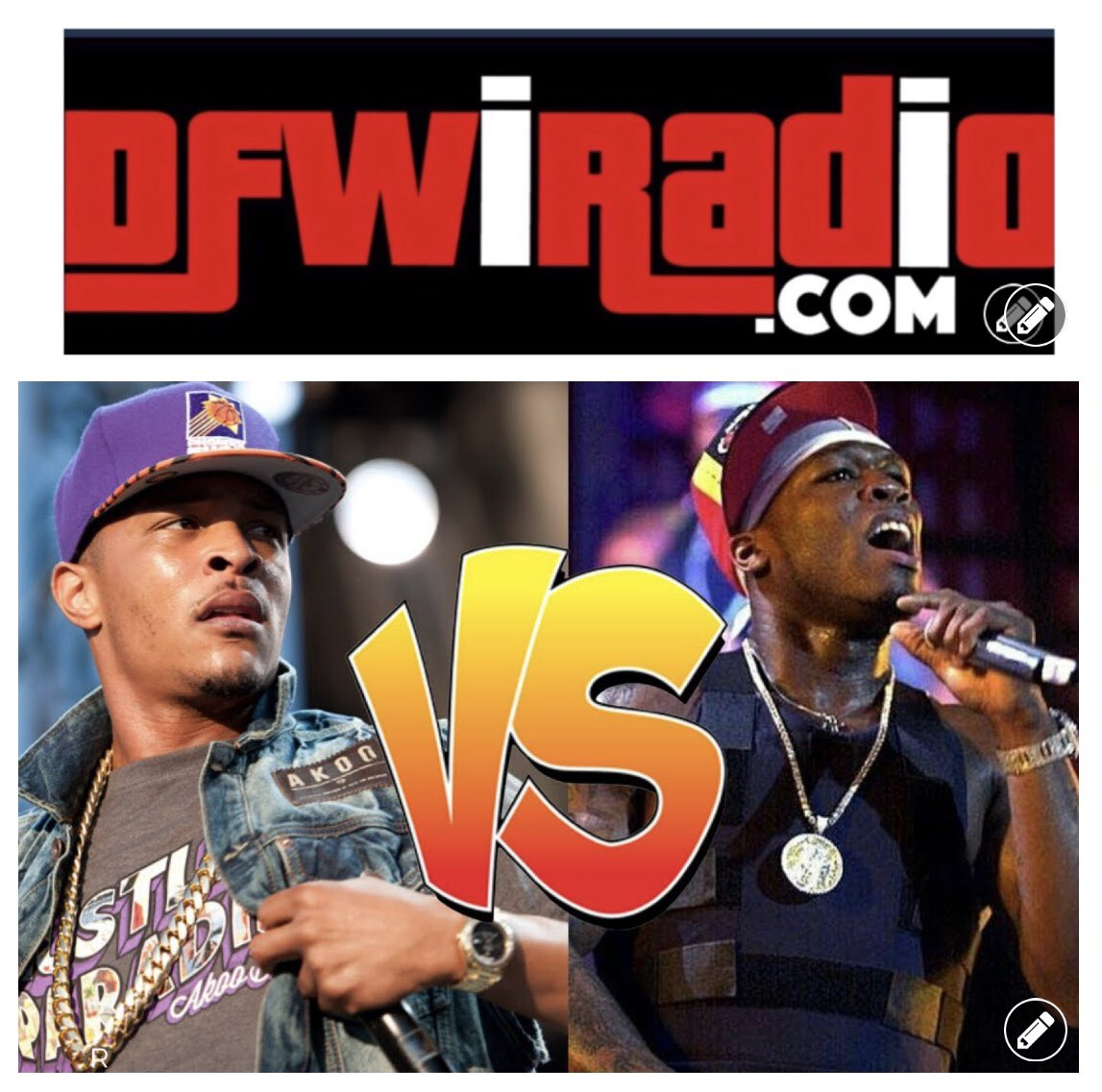 July 18th I'm going to discuss T.I calling out 50 cent. Who is the better rapper?😎🎤 #TI  #50Cent #RapBattle https://t.co/vfXfpnP54M
