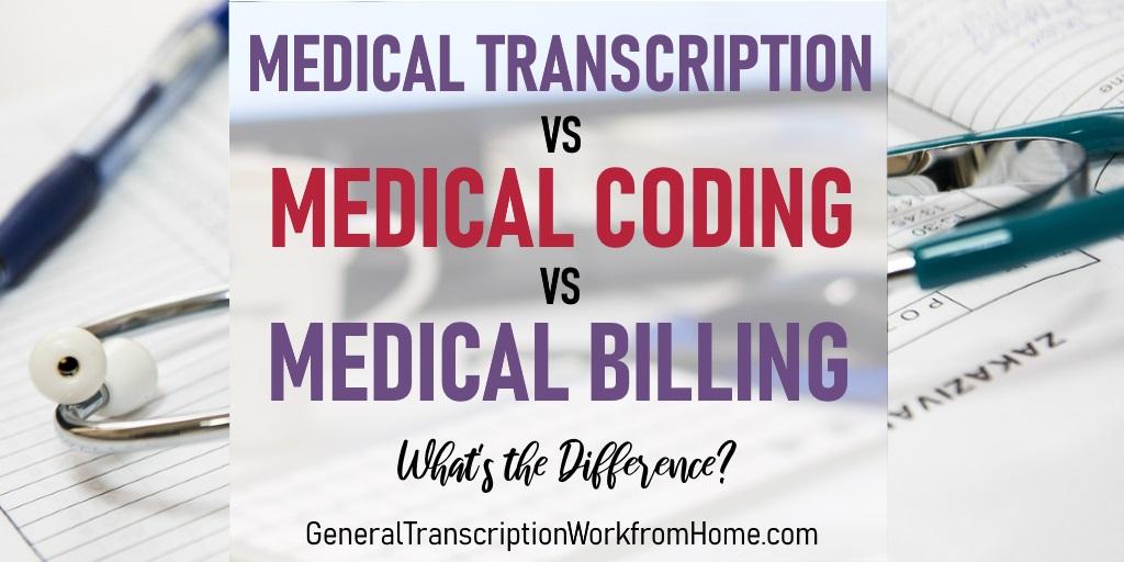 Medical Transcription vs Medical Coding vs Medical Billing #MedicalTranscription #medicalbilling #MT #WAHM #Moms https://t.co/QnwhDRCeMa https://t.co/5DiQP6gw1E