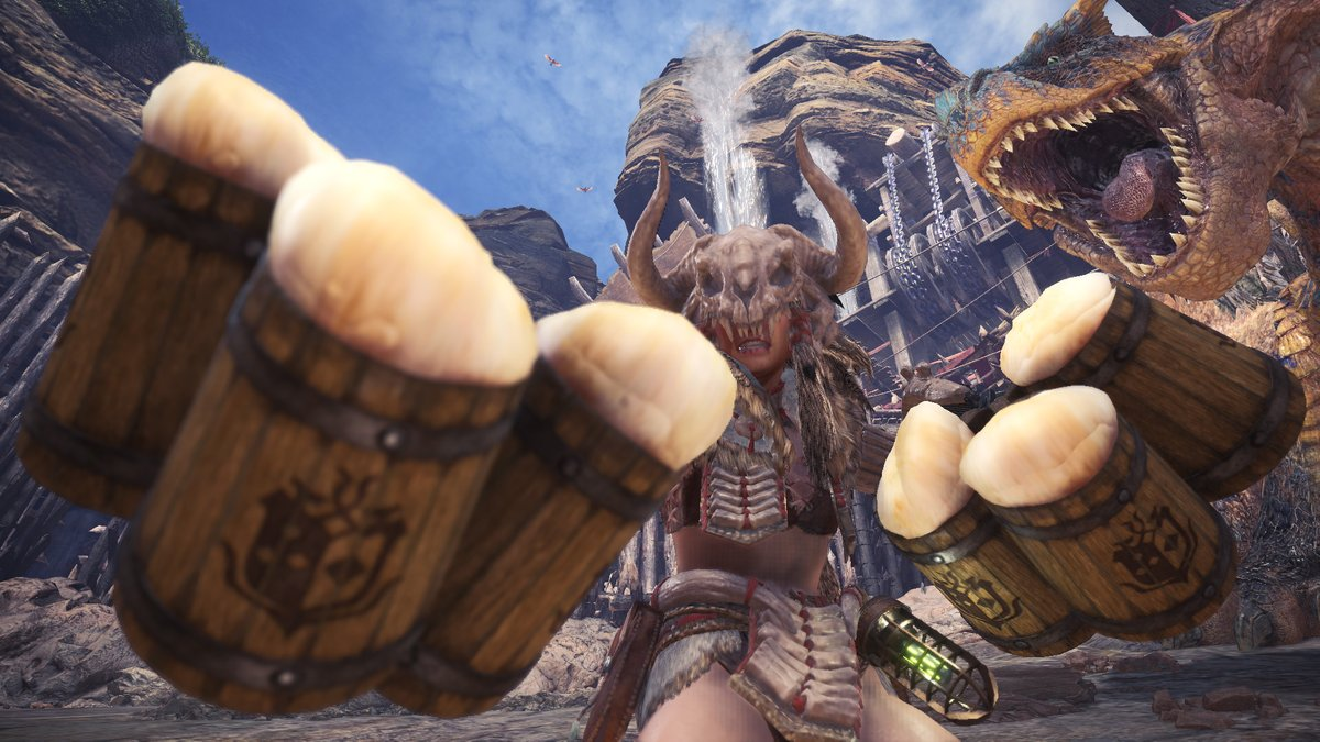 ▼イベントクエスト「幻の轟竜???」特別な素材を集めて、アワアワで特別な双剣を生産しよう!【実施期間】2020年7月22日(水)9:00~8月7日(金)8:59受注・参加条件:MR9以上フィールド:闘技場クリア条件:ティガレックスの狩猟