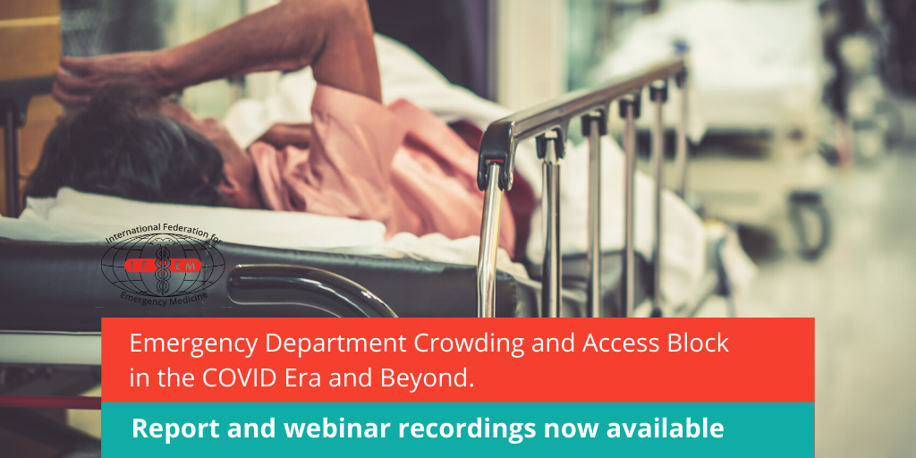Missed the webinar launch of the IFEM Emergency Department Crowding and Access Block in the COVID Era and Beyond Taskforce Report? Report and webinar recordings now available here: ifem.cc/emergency-depa…