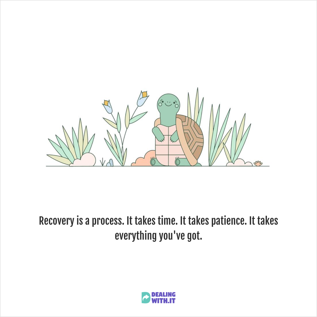 Understand that recovery is a process, you need to be patient.  #Mentalhealth #MentalHealthAwareness #recovery #trauma https://t.co/3hgMjJKfyN