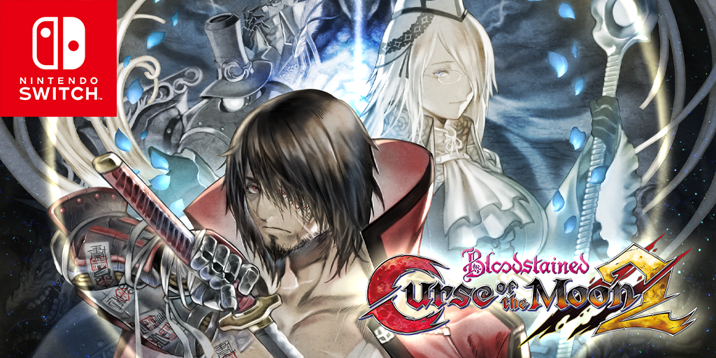 Bloodstained: Curse of the Moon 2 is NOW AVAILABLE for #NintendoSwitch on the European eShop! Get your swords and whips ready, and take it to those demons! nintendo.co.uk/Games/Nintendo…