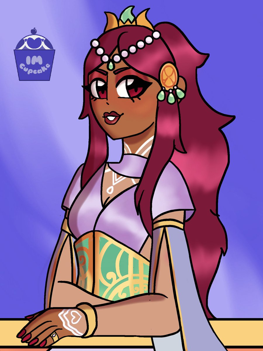 I drew Nadia from @thearcanagame because It's HER BIRTHDAY!! I love her so much! I hope this is a good enough tribute for her birthday!! pic.twitter.com/1q6IyL7Nhx