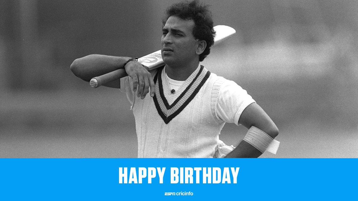 Happy Birthday to you Sunil sir@suni #OnThisDay #happybirthdaysunilgavaskar https://t.co/pptQijqzhE
