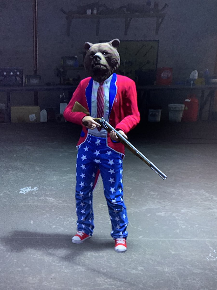 Merica Bear! #GTA #PS4 #COVID #GamerNerd #Mericapic.twitter.com/1MMdGz2bKE