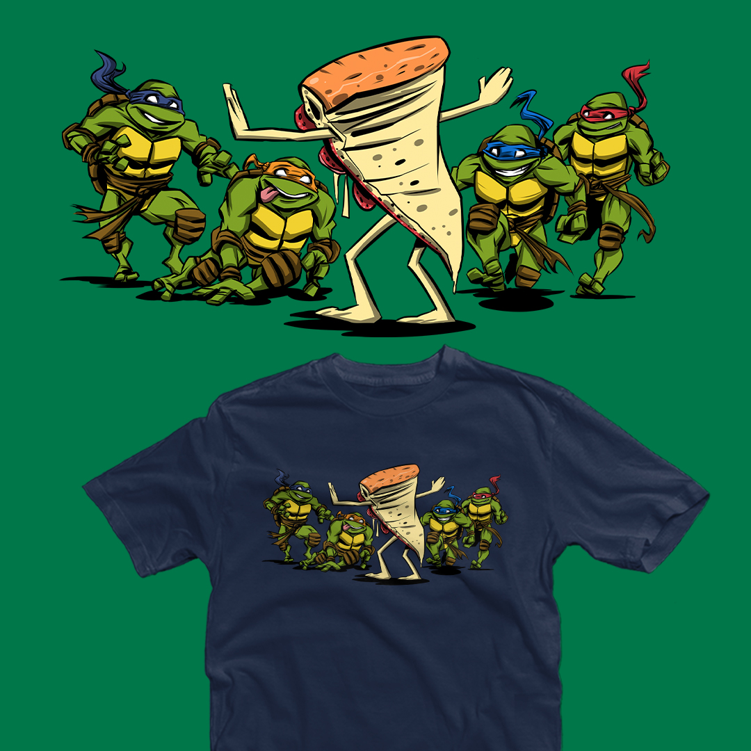 "THE DAILY | ""Jurassic Pizza"" by #zascanauta  starts at just $12 today only at #TeeFury ⚡ https://t.co/v1Yp5q3LhA https://t.co/3QQNTVwUoL"