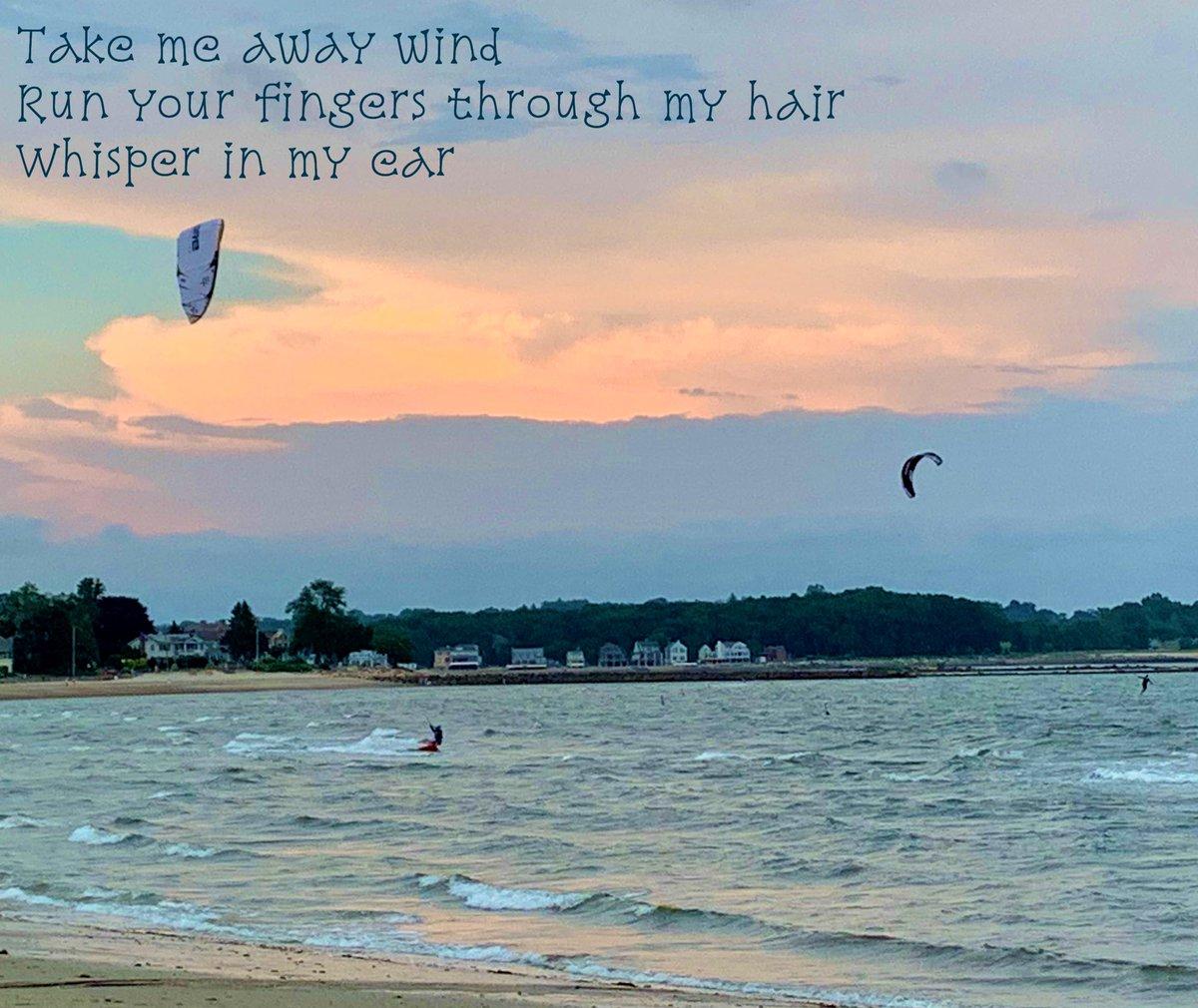#haiku #poem #poetry #beach #windsurfing #sky #clouds #sunset #whisper #takemeaway #fingers #hair #dream https://t.co/ccuJJHKefa