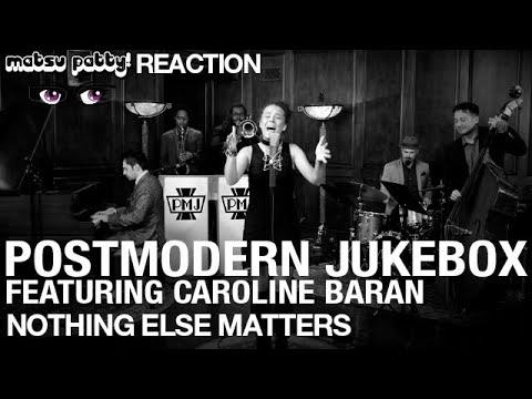 Postmodern Jukebox ft. Caroline Baran - Nothing Else Matters (Metallica cover) | Reaction  https://www.youtube.com/watch?v=Gsotv_NQl88…pic.twitter.com/W5DntNknaK
