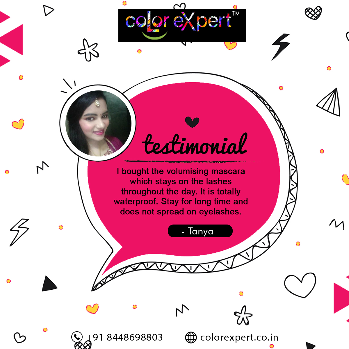 Our clients and customers are everything for us. We are glad they are happy with us! Thank you! #clientdiaries #reviews #colorexpertproducts #whatmakesyoubeautiful #professionalmakeup  https://youtu.be/TTW2lkkbHmA pic.twitter.com/pdG1UpkHC8