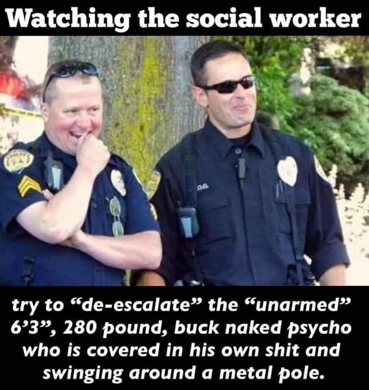 Off facebook- READ THE CAPTION. THEN READ IT AGAIN. #AbolishThePolice #PoliceBrutality #PoliceBrutalityPandemic pic.twitter.com/tZV9128cJA