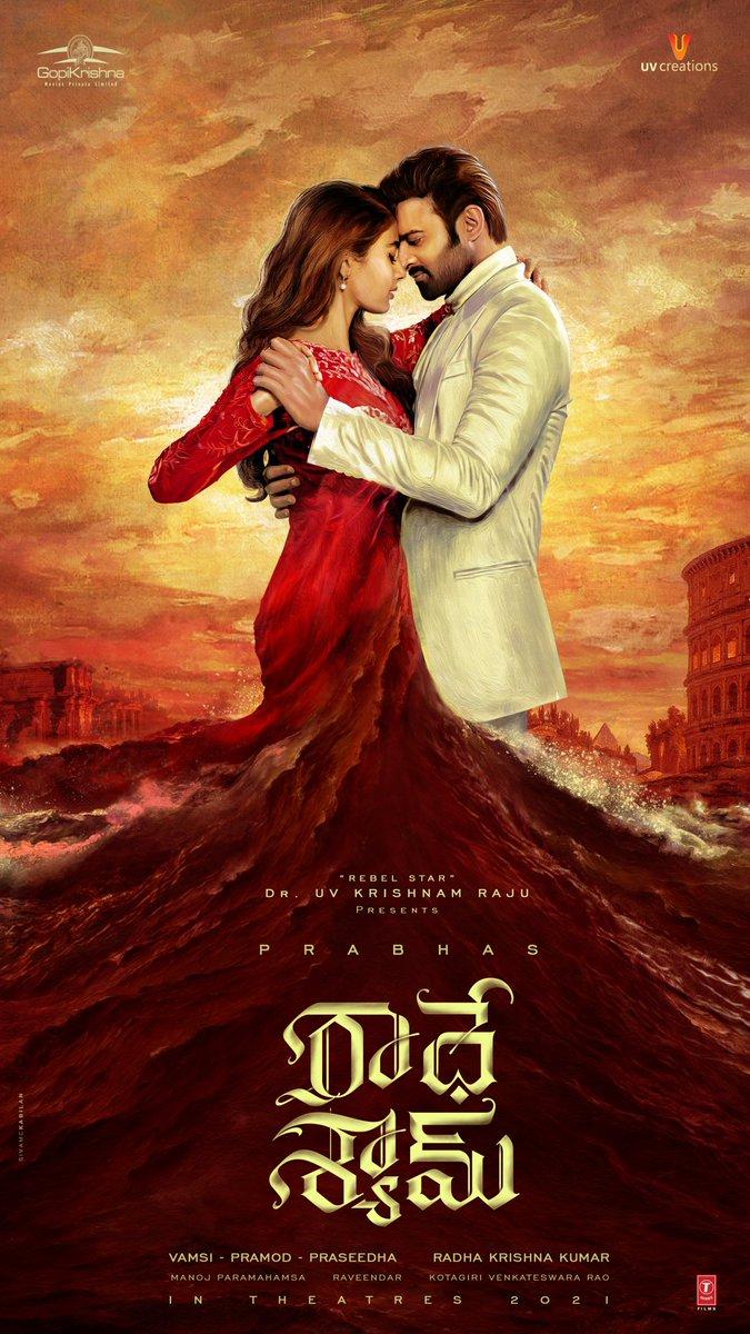 #Radheshayam first look #Prabhas20 #PoojaHegde #raadhakrishna #TeluguFilmNagar #TeluguFilms #tamil and #malayalipic.twitter.com/LhS8C4yTqz