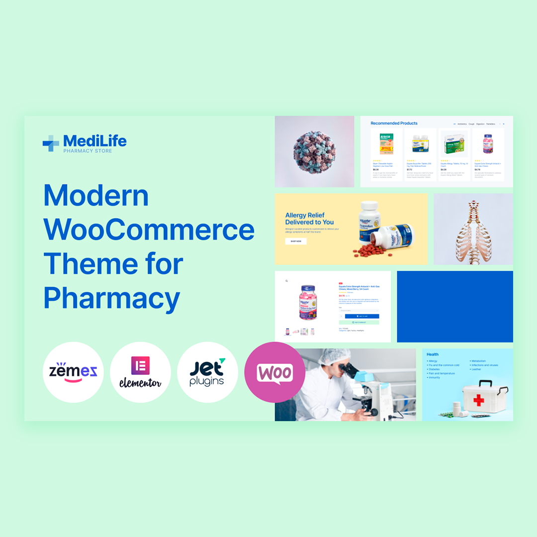 ☀️MediLife is the perfect ready-made solution for your future online pharmacy project - https://t.co/yX1aKWqKUD  #pharmacy #webdev #WebsiteDesign #medicine #ecommerce #Covid19 #OnlineBusiness https://t.co/mcQtfZcU0R