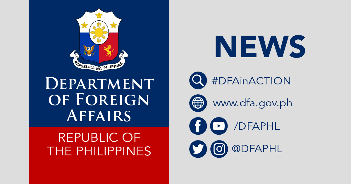DFA Facilitates Cooperation on Vaccine Trials and Manufacturing, and Other Humanitarian Assistance Related to COVID-19: https://t.co/889nuQuGBi  The @DFAPHL through its Foreign Service Posts, has exchanged information on vaccine developments with potential international partners. https://t.co/iWrDt9We7y