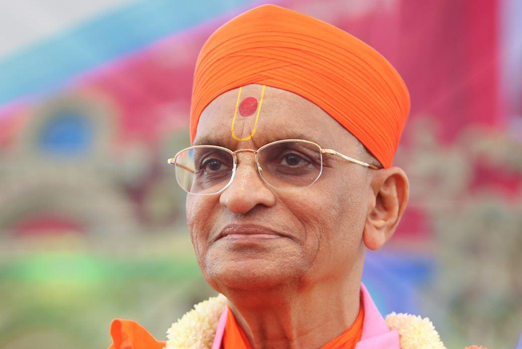 Acharya Swamishree Purushottampriyadasji Maharaj of Maninagar Gadi Sanasthan passes away