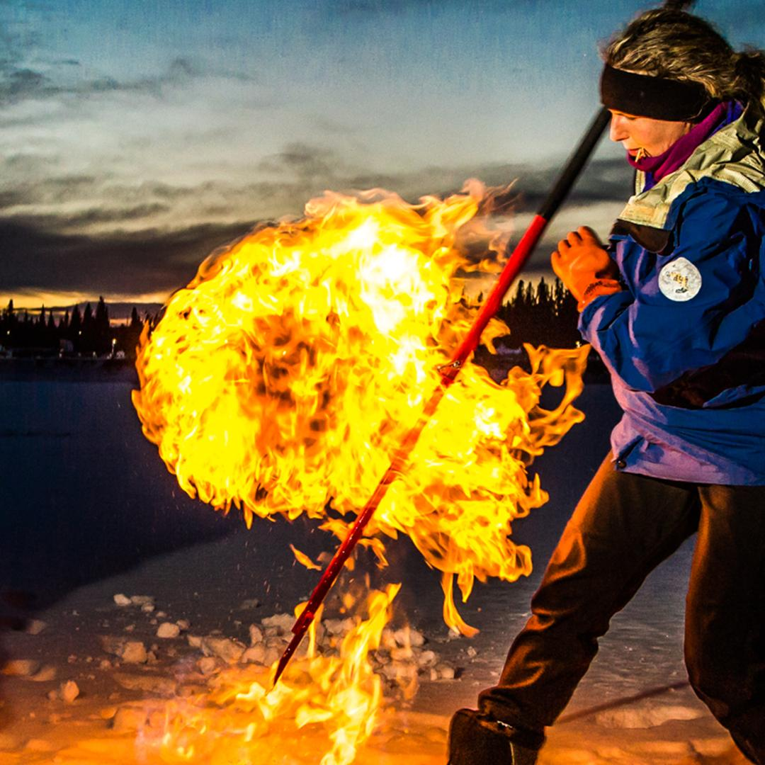 Thousands of flammable lakes are popping up all over Alaska and Siberia