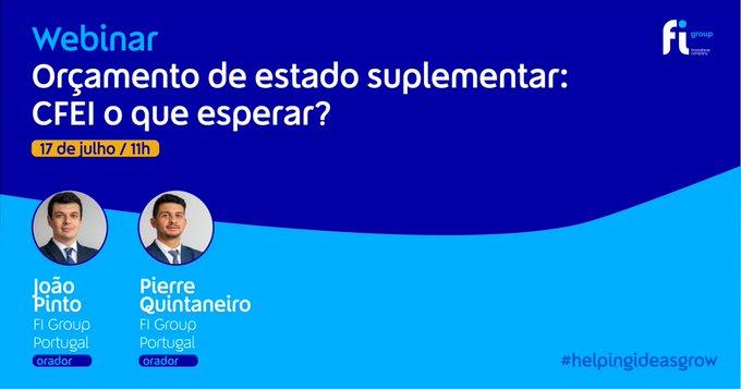 Na próxima sexta-feira, 17 de julho, às 11h Pierre Quintaneiro e João Pinto vão discutir a n....