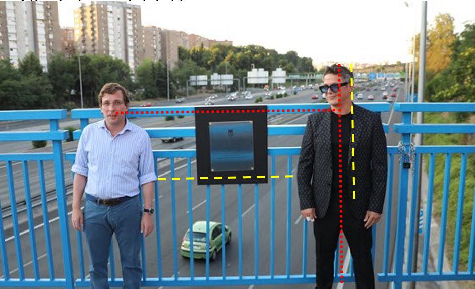 Teniendo en cuenta su altura no parecen estar a 2 metros. ¿Y la mascarilla @AlmeidaPP_ y @AlejandroSanz ? https://t.co/fk0gmW4CFr