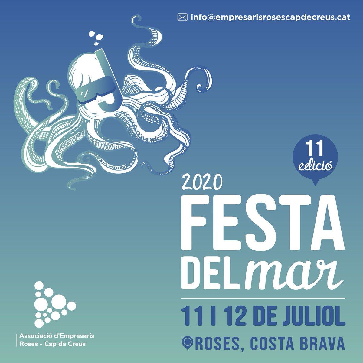 Aquest cap de setmana, gaudeix del mar en família amb la Festa del Mar a #Roses! 👩👩👧👦🌊 Programació i descomptes 👉 livingroses.cat ⚠️ Reserves prèvies segons disponibilitat Vàlid per al cap de setmana de l11 i 12/07 @VisitRoses @Aempordaturisme @costabrava