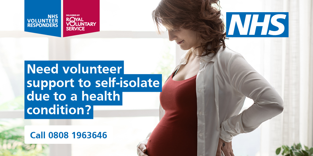 If you or someone you care for in England needs to shield from coronavirus #NHSVolunteerResponders can collect shopping and medication and make friendly calls.   📞 Call the Helpline between 8am - 8pm Tel: 0808 196 3646 https://t.co/NplBNAZQTY