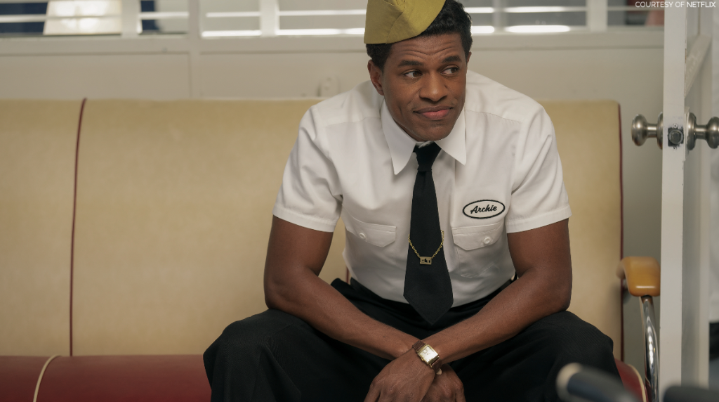 Coming up on @CBSThisMorning, @JrmyPope joins to discuss his role in the popular @Netflix series #Hollywood.