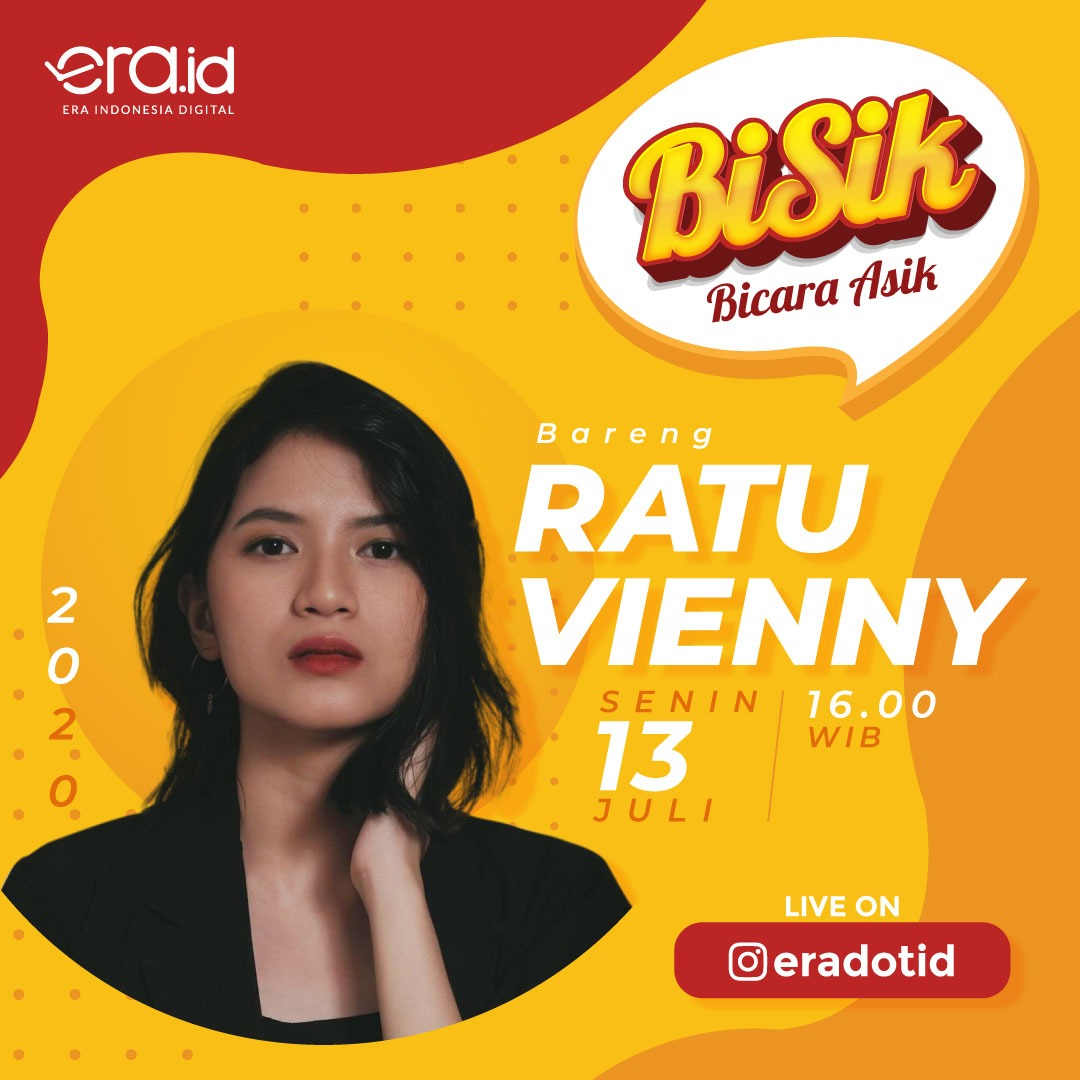 Our Vienny @itskindavienny will go live with @eradotid on their instagram: 📆 Mon, Jul 13th 2020 🕔 4PM  We can drop questions for Vienny under this post: https://t.co/zIn9TaOFGD https://t.co/rTJjyQhdtH