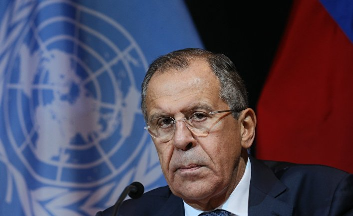 Sergey #Lavrov: Russia stands for dialogue and #strategicstability based on balance of interests of all states, yet US aims to get rid of everything restraining its freedom to act with impunity on intl arena, incl #INFTreaty, #OpenSkiesTreaty, #CTBT, @UNESCO, @UNHumanRights, @WHO https://t.co/13cbx025Ye