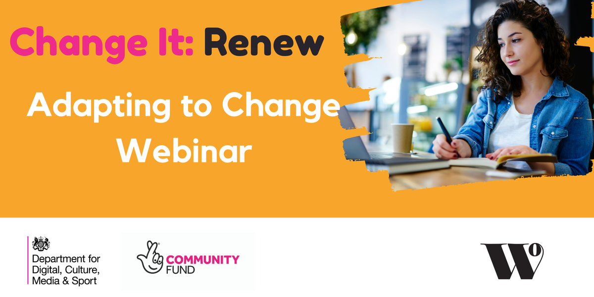 🚨 FREE WEBINAR 🚨  'Adapting To Change' webinar lead by qualified counsellor Kate Lucy will explore tips & strategies to help you manage change and give you techniques that will help reduce anxiety.  📅 Wednesday 15th July, 11 am via zoom    Tickets: https://t.co/pXiqXWLeAZ https://t.co/gEyNhofwfl