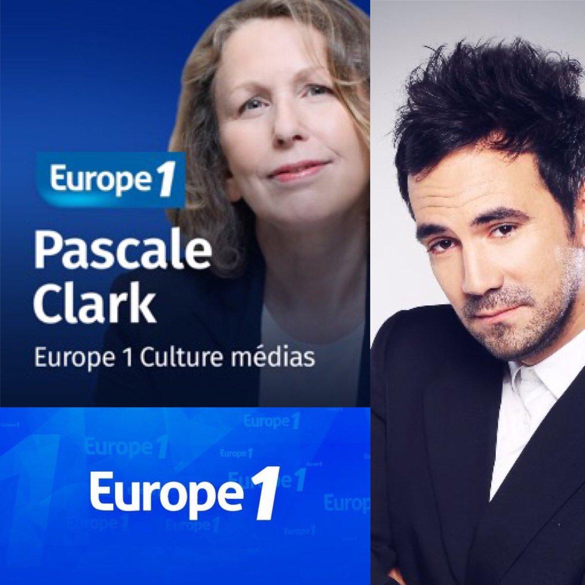 📻 @alexgoude sera dans #culturemedia a @Europe1 09H40  présenté par @PascaleClark . #europe1 #alexgoude #radio https://t.co/JDdoWbYBMe