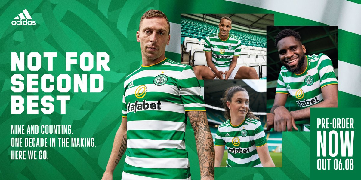 Oh, and there's a nice @adidasfootball x @CelticFC release film, too. Nine and counting.