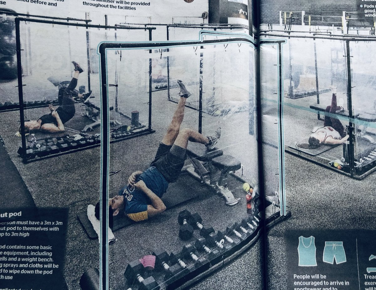 it's life (gym) but not as we know it