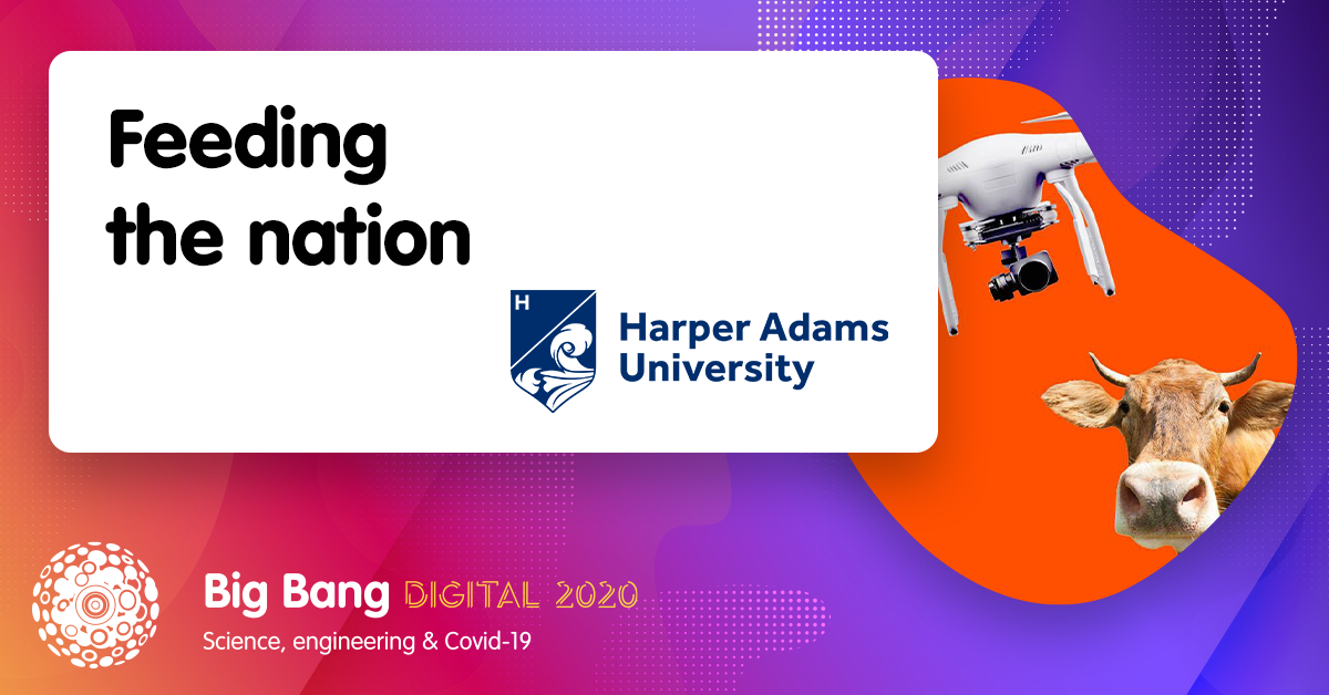 The food industry has relied on automated technology more than ever during the #Coronavirus pandemic... Join @HarperAdamsUni's #BigBangDigital session to find out what the field-to-fork journey looks like, and how the crisis has impacted the way we produce and process food 🥫🌽🍅 https://t.co/hXWQZm3Dbr
